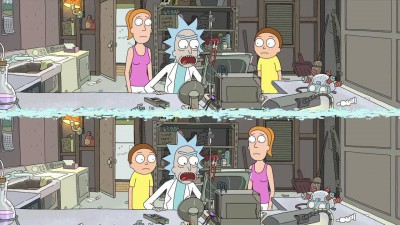 Rick a Morty 02x01 A Rickle in Time CZ dabing.mkv