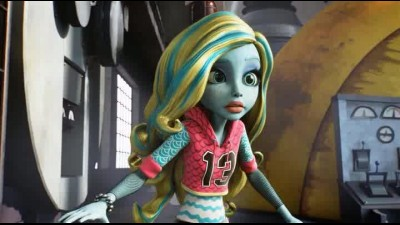Monster High Monstrozni napeti 2017 CZ Dabing Novinka con.avi
