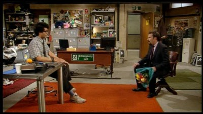 Ajťáci - The IT Crowd S01E05 DVDrip CZDAB.avi
