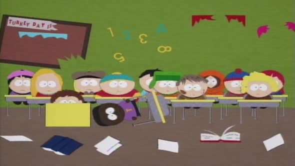 South Park S01E08 Hladovej Marvin DVDRip XviD CZ ENG mkv