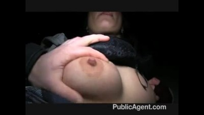 Publicagent - Brunette is paid for sex.mp4