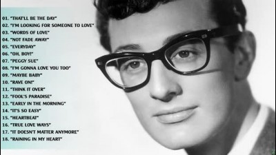 Buddy Holly Greatest hits full album♪.avi