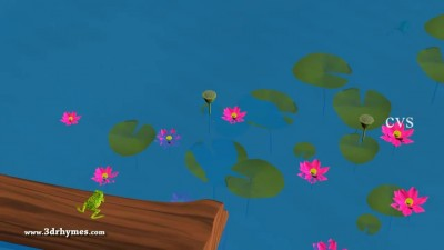 Five little Speckled Frogs - 3D Animation English Nursery rhyme for chlidren.mp4