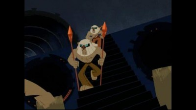 Samurai Jack S02E09 XXII Jack and the Hunters.avi