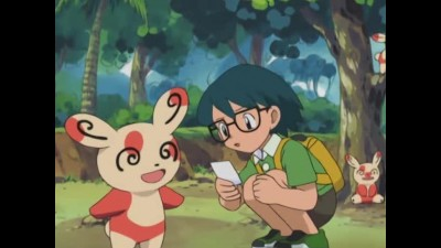 Pokémon S07E17 Going For A Spinda! CZ Dab.mkv