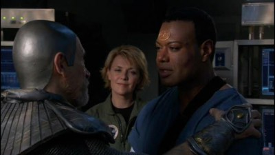 Hvezdna brana (Stargate-SG1) CZ 10x01 - Z masa a kostí (Flesh and Blood).avi